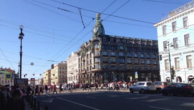 我が怒り、爆発せり- ロシア・サンクトペテルブルグにて-
