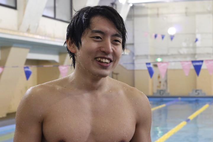 【東大マッチョ図鑑】エントリーNo.4 篠田くん ~水泳、それは自分の限界への挑戦~